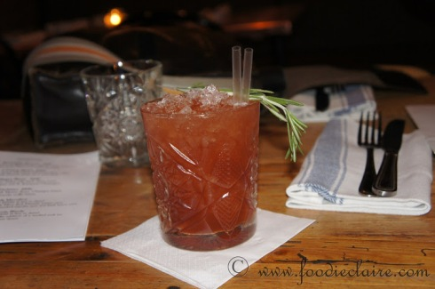 Cocktails at Beard to Tail Restaurant