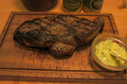 Steak at Tramshed