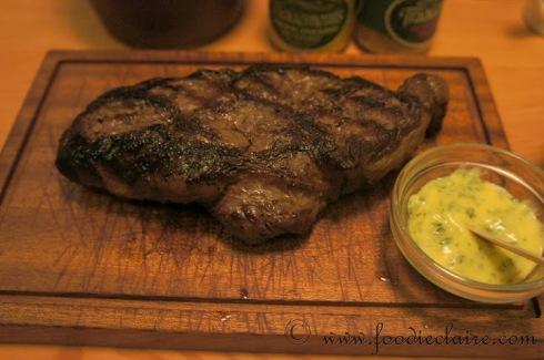 Steak at Tramshed