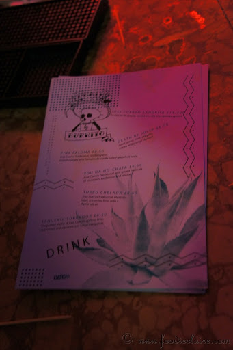Death by Burrito Cocktail Menu