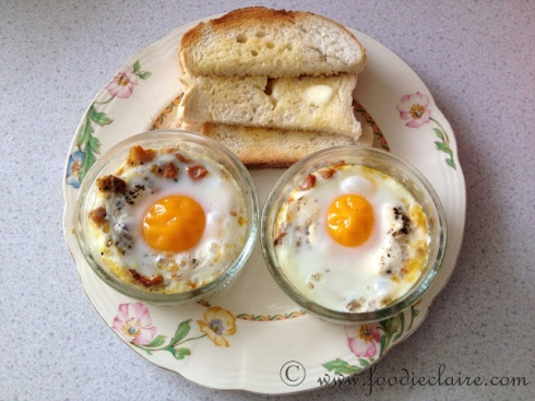 baked kippers and eggs with toast soldiers