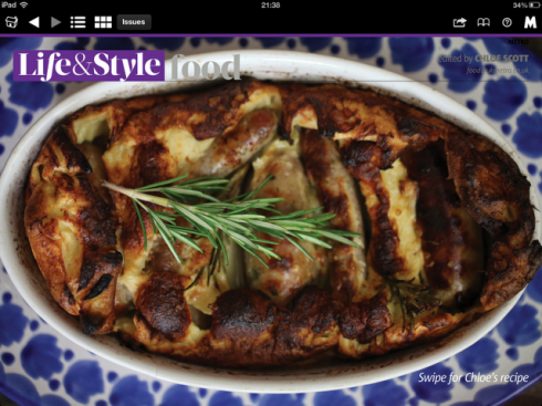 the metro newspaper toad in the hole photo