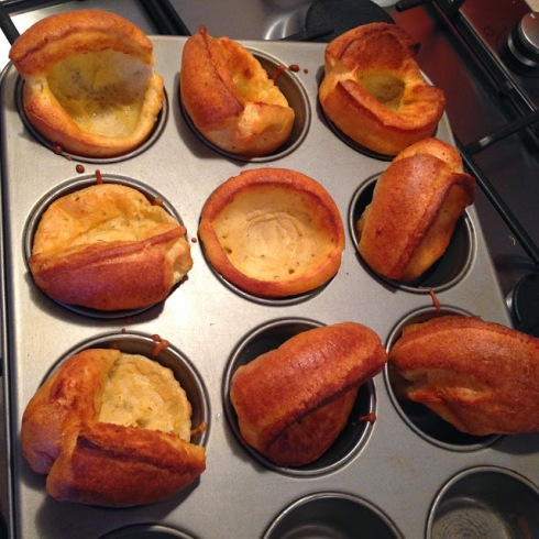 Jamie Oliver style Yorkshire puddings