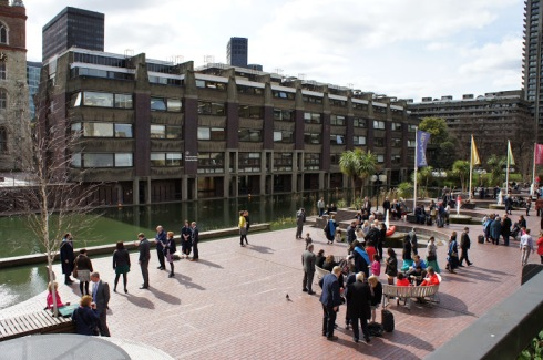 Barbican Lounge Terrace – View