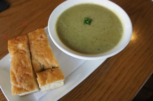 Broccoli and Gorgonzola Soup