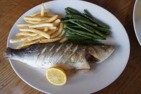 Sea Bass and Frites